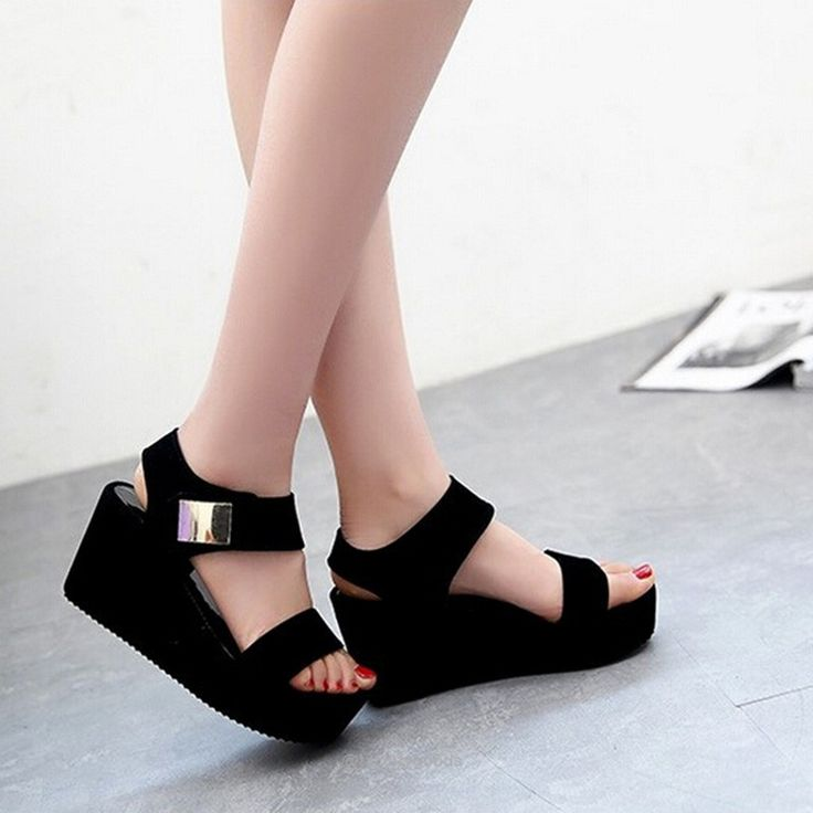 Women Wedges Sandals-Sandals-Tac City Goods Co. https://www.taccitygoods.com/products/women-wedges-sandals