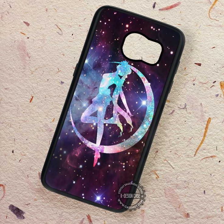 Moon Art Sailorrmoon Cartoon - Samsung Galaxy S7 S6 S5 Note 7 Cases & Covers