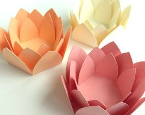 Forminhas p/ doces flor lotus (20 unid)