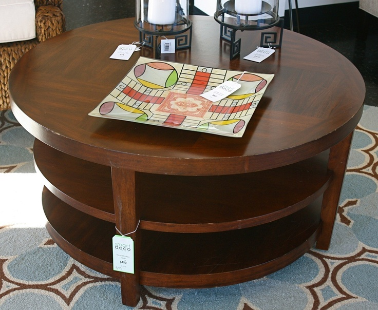 1000 ideas about round wood coffee table on pinterest for Round table 85 ortenau
