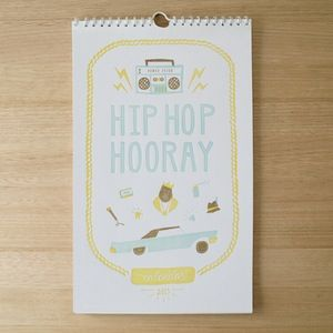 Sass Cocker: Hip Hop Hooray - 2015 Charity Calendar