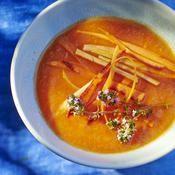 Soupe fraîche de melon et carotte - une recette Soupe - Cuisine