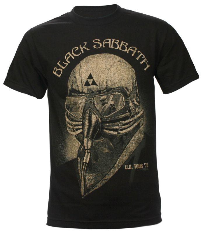Black Sabbath T Shirt Vintage Iron Man Tour Distressed