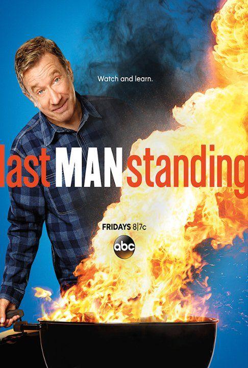 Tim Allen in Last Man Standing.  Another funny show with Tim Allen.