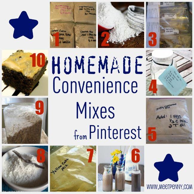 homemade mixes - homemade cake, pudding, bisquick mixes
