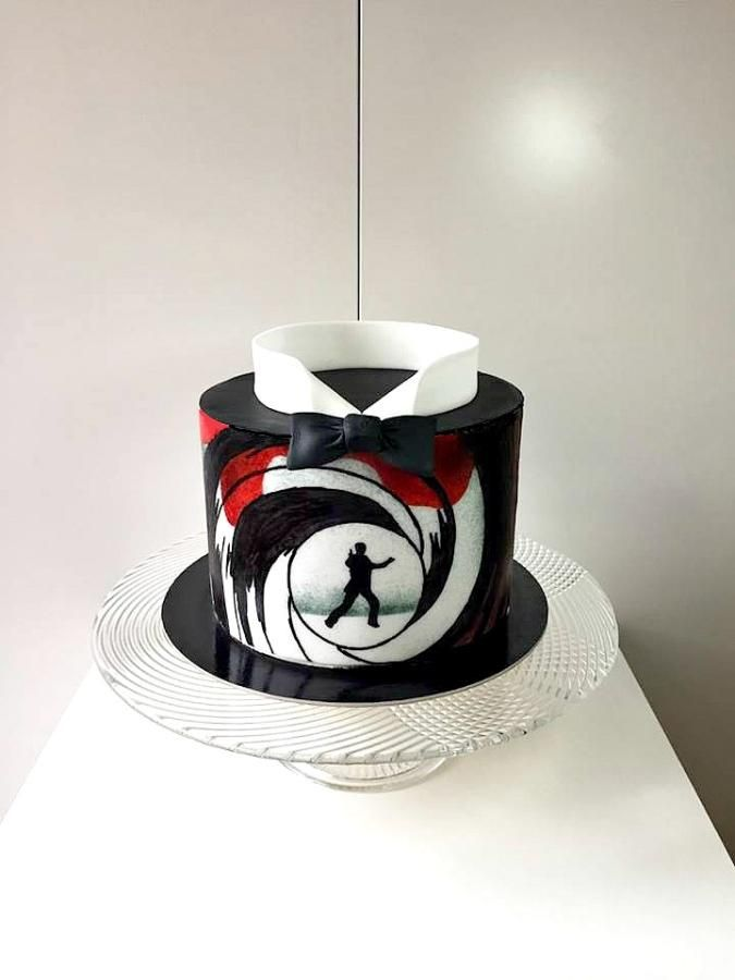 James Bond cake by Frufi