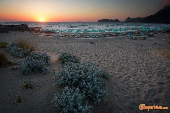 Crete, Falasarna mythical beach and camper stop   Camperistas.com