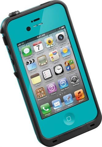 lifeproof 4s case in teal! waterproof iphone cases! :) www.lifeproof.com