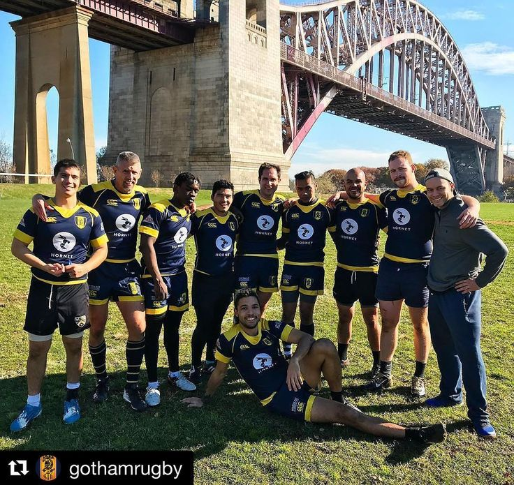 LFG @gothamrugby.  #Repost @gothamrugby  Good luck to these group of Knights representing @gothamrugby in the Thanksgiving NY 7s tournament today!!! We're #WithYou handsome crew of Gents! #Gothamrugby #rugby #rugby7s #igrugby #thanksgiving #nyrugby #NY7s