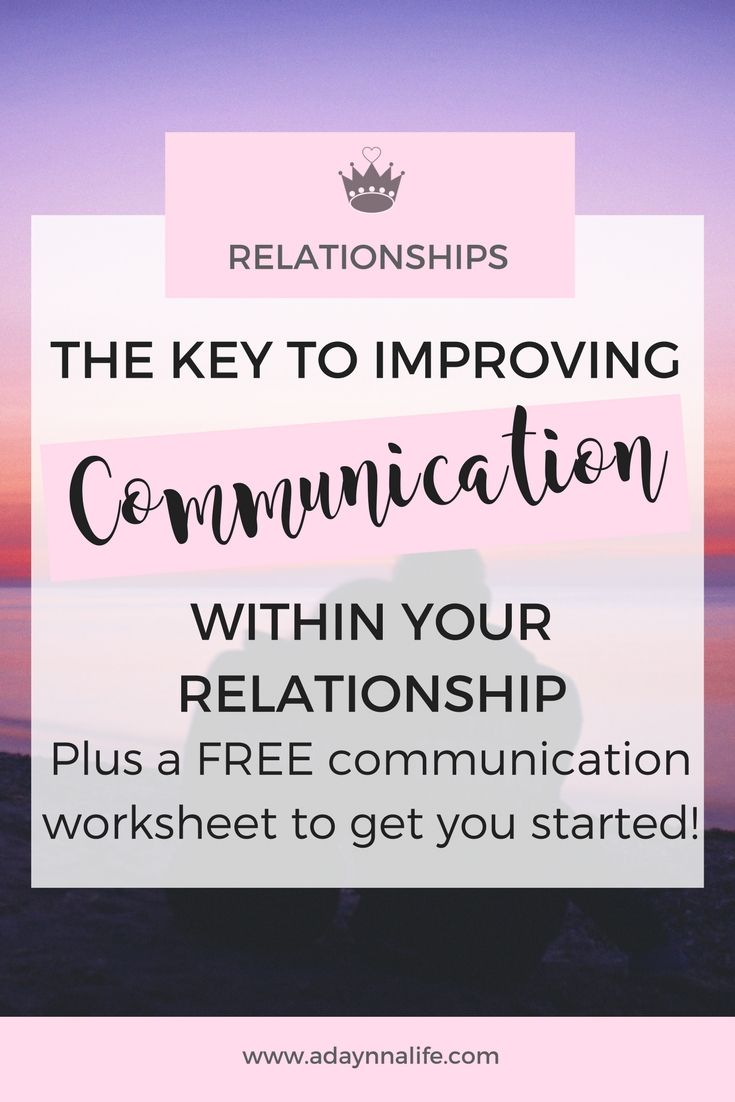 communication and relationship skills