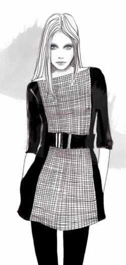 Lena Ker fashion illustration