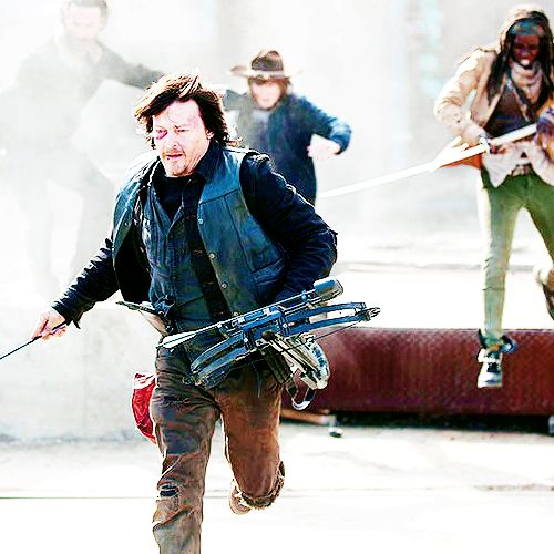 I thought Carl was going to die in the season finale. It was really focused on him and the camera always focused on him a little too long to be normal. When Rick,  Daryl, and Michonne were lined up by the train car, and Carl was just standing there, surrounded by snipers, I though: 'this is it. They're gonna shoot him. But they didn't.  Who knows? Maybe Carl will die at the beginning of season 5 (I hope not. :'()