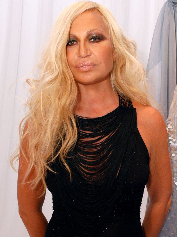 Donatella Versace Through The Ages Blonde Italian Fashion