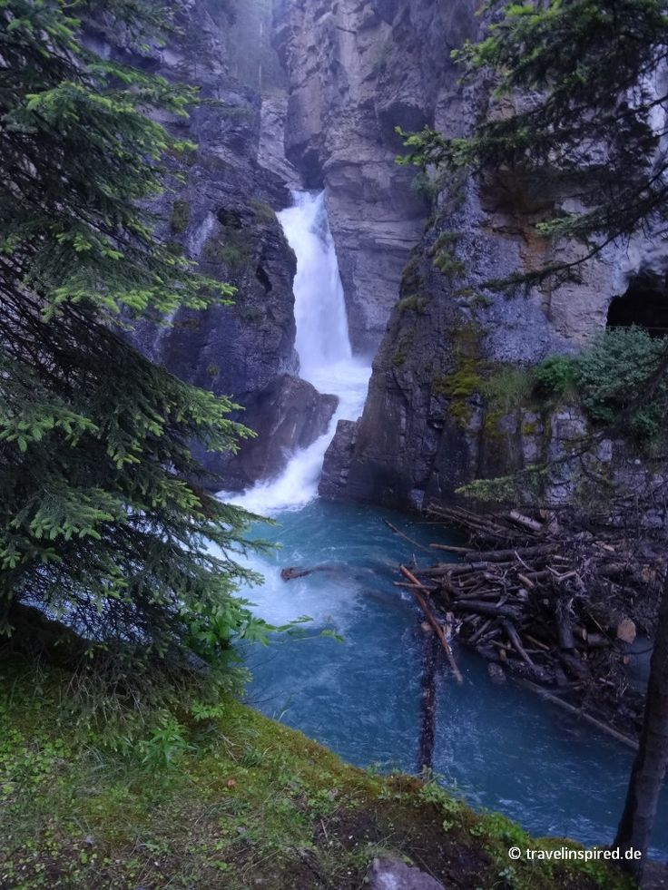 Johnston Canyon, Banff Nationalpark, Alberta, Kanada