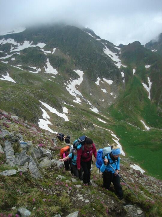 The Transylvanian Alps - Trekking in mid June