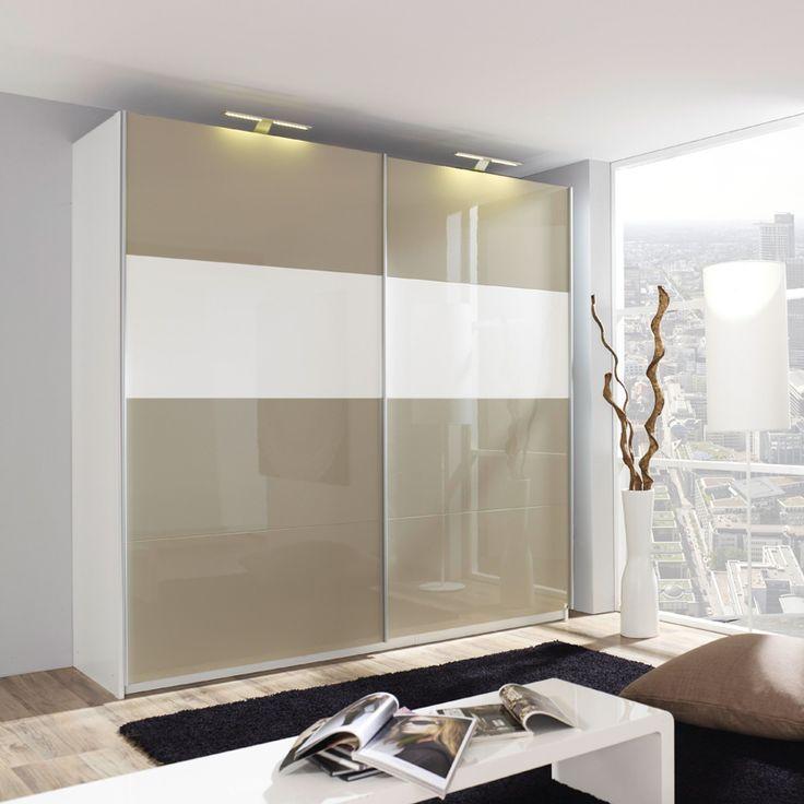 e-combuy Angebote Kleiderschrank BELUGA PLUS 225cm weiß, Hochglanz sandgrau: Category: Schwebetürenschränke Item number:…%#Quickberater%
