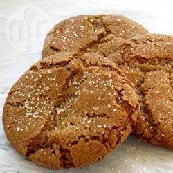 Chewy Treacle Cookies - A great way to use up the left-over black treacle from Bonfire Toffee and they taste great, kids loved them! Didn't have ground cloves so substituted mixed spice.