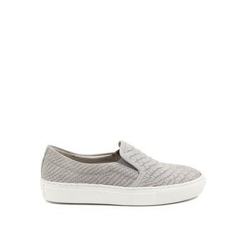 Stoere Manfield Sneakers (Grijs) Sneakers van het merk Manfield voor Dames. Uitgevoerd in Grijs in Suede.