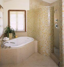 Walk In Shower No Door Bathroom Pinterest
