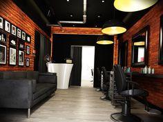 Дизайн салона красоты в стиле лофт. Дизайнер интерьера в г. Алматы- Сатиков Руслан