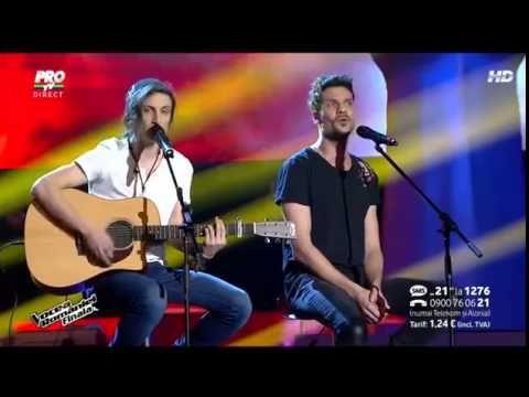 Ana - Tiberiu Albu şi Tudor Chirilă în finala Vocea României 2014