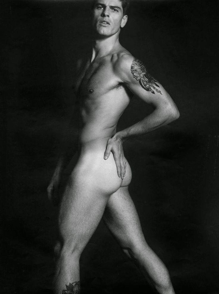 Fashion male model nude 24