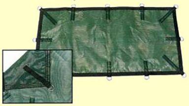 Bâche hiver filtrante de securite piscine MENUIRES SAFE, bâche d'hiver filet pas cher chez Piscine-securite.fr