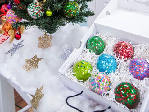 Tanya Memme's DIY Sprinkle Ornaments | Hallmark Channel