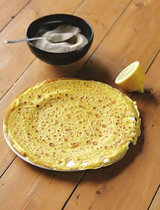Perfect pancakes from Hugh Fearnley-Whittingstall's River Cottage Pancake Day Recipes