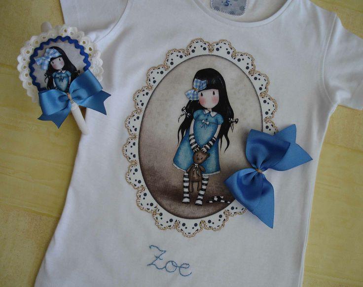 Camiseta y diadema Gorjuss