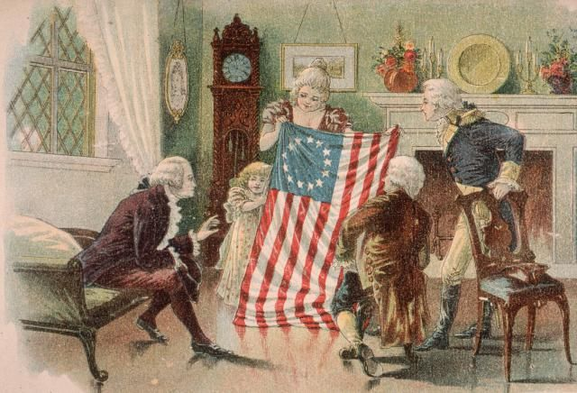 11 Women's History Myths: What's True and What Just Ain't So: Betsy Ross and the First American Flag