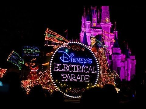 Disney Video Tours Presents - The Main Street Electrical Parade - Multicamera HD - YouTube. The most beautiful filmed version of the parade I've ever seen!