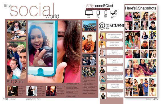 Social Media mod spread idea