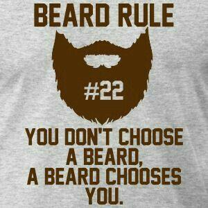 Beard rule #22