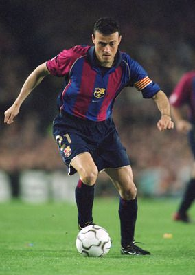 Luis Enrique Martínez García, former attacking midfielder FC Barcelona and Spain