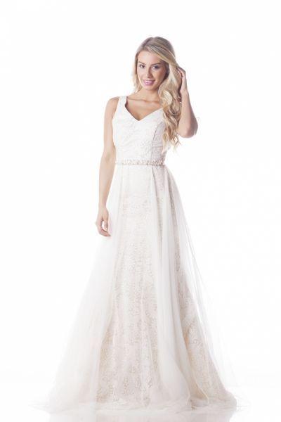Vestidos de novia línea A 2017: 40 diseños para lucir una figura estilizada y entallada Image: 26