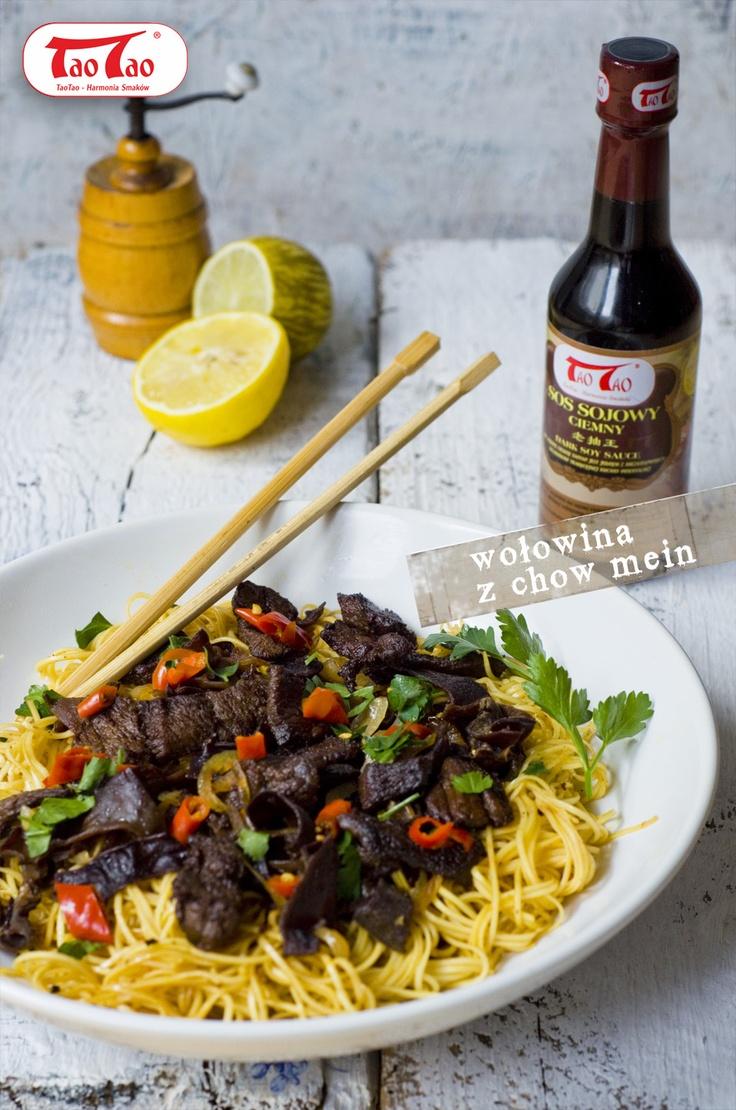 Makaron Chow mein TaoTao z Grzybami mun TaoTao i marynowaną wołowiną http://taotao.pl/przepisy_kulinarne/a2,2/id,2265960,makaron_chow_mein_taotao_z_grzybami_mun_taotao_i_marynowana_wolowina_taotao.html