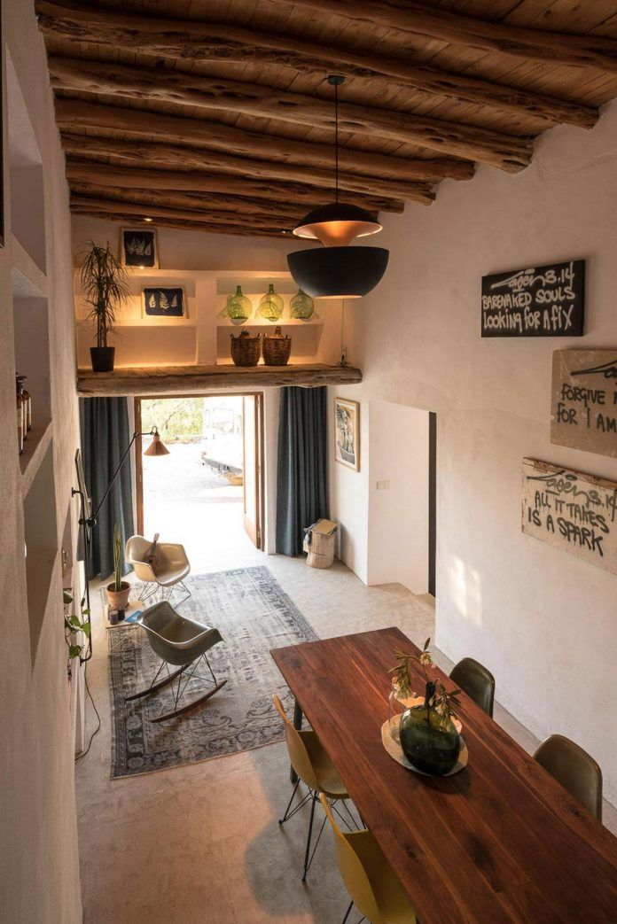 200 year old casita transformed into a showroom and guesthouse in Ibiza - CAANdesign   Architecture and home design blog