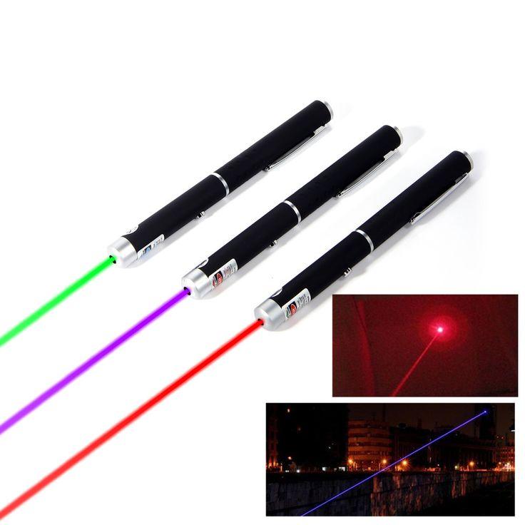 Alta calidad 5 MW 532nm Lazer Pen Laser Potente Puntero Láser Presentador Remoto caza sighter perforación Láser Sin Batería