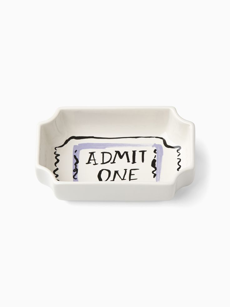 pop by™ movie ticket candy bowl | Kate Spade New York