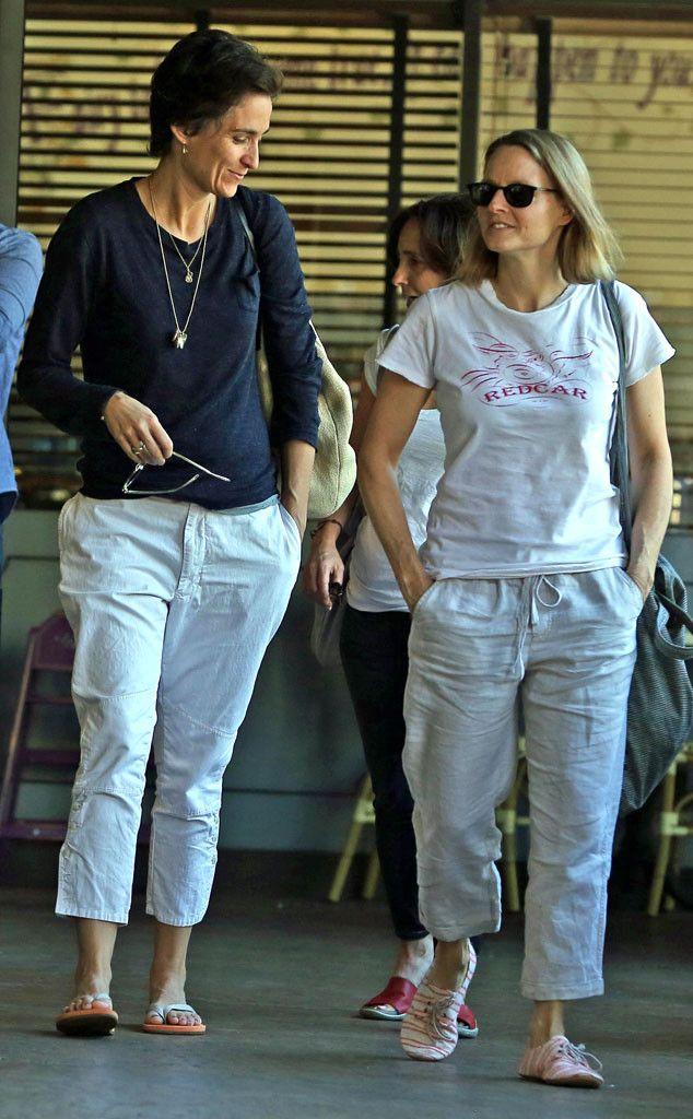 Married!  #Jodie Foster, #Alexandra Hedison