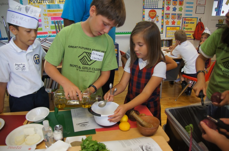 Hands on food education!