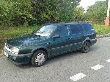 VW Golf kombi 1,9D, r. v. 1996, najeto