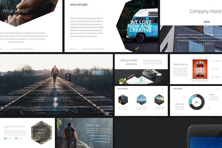 20 in 1   Keynote + PowerPoint by Entersge on @creativemarket