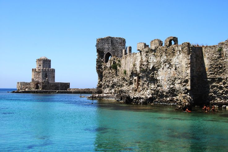 The coastal castle of Methoni!