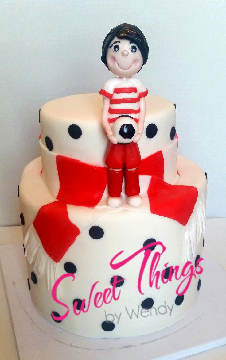 Soccer league award cake - sweetthingsbywendy.ca