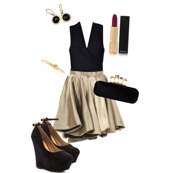 Cute new years eve outfit