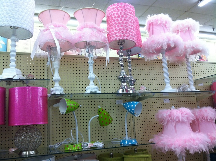PRetty Girls Room Lamps At Hobby Lobby