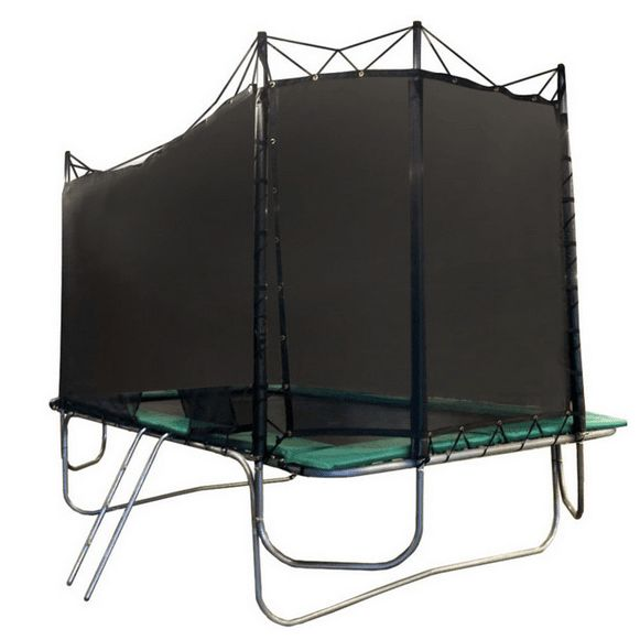 15x17 Rectangle Texas Extreme Trampoline with Enclosure. Shop now - free shipping! #trampoline