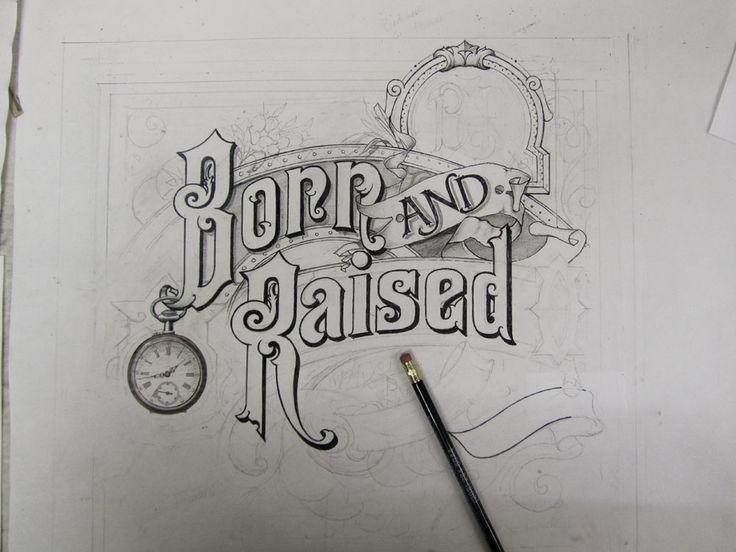 'Born & Raised' impressionante trabalho de David A. Smith | J.Robertos blog